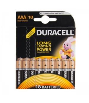 Батарейка Duracell LR03 BASIC/NEW BL-18