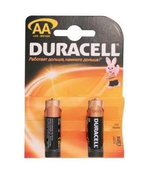 Батарейка Duracell LR06 BASIC/NEW BL-2