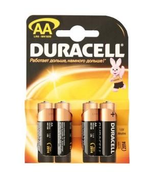 Батарейка Duracell LR06 BASIC/NEW BL-4