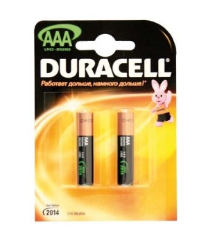 Батарейка Duracell LR03 BASIC/NEW BL-2