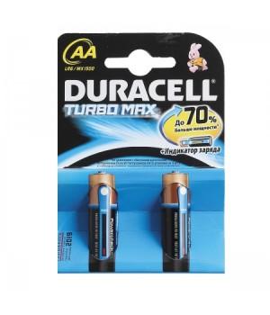 Батарейка Duracell LR06 TURBO BL-2