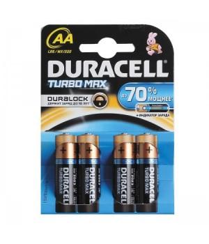 Батарейка Duracell LR06 TURBO BL-4