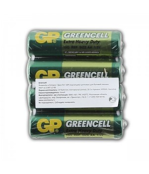 Батарейка GP R06 Greencell (4)