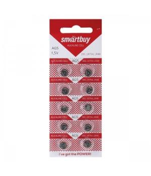 Батарейка Smartbuy 393A (G05) (SBBB-AG5-10B)