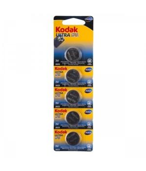 Батарейка Kodak литий CR2025 5*BL