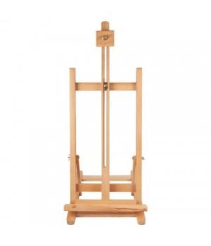 Мольберт настольный BRAUBERG, бук, 28×96×32 см, высота холста 53 см