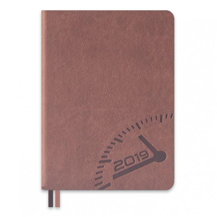 Ежедневник датированный, формат А6+, 176 л., твёрдый переплёт, блинтовое тиснение