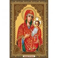 Казанская Божия Матерь Алмазная частичная мозаика на подрамнике Color Kit IK002