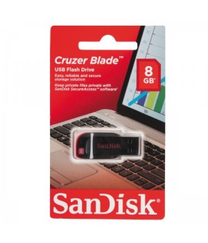 Флеш-память USB 8 Gb SanDisk CZ50 Cruzer Blade 2.0