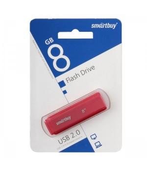 Флеш-память USB 8 Gb Smartbuy Dock Red (SB8GBDK-R)