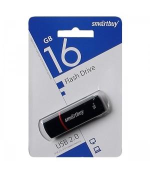 Флеш-память USB 16 Gb Smartbuy Crown Black (SB16GBCRW-K)