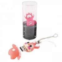 Флеш-память USB 16 Gb 190569/6 КОКОС лапка розовая