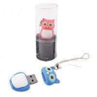 Флеш-память USB 16 Gb 190572/2 КОКОС сова красная