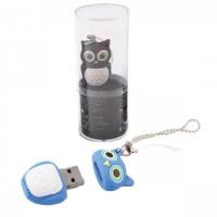 Флеш-память USB 16 Gb 190572/3 КОКОС сова коричневая