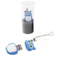 Флеш-память USB 16 Gb 190572/4 КОКОС сова синяя