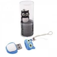 Флеш-память USB 16 Gb 190572/5 КОКОС сова черная