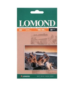 Фотобумага Lomond 230/10*15/50 мат.одн. 0102034