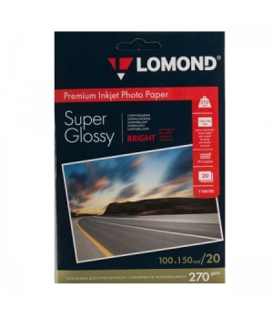 Фотобумага Lomond Super-Glossy Bright 270/10*15/20 одн. 1106102