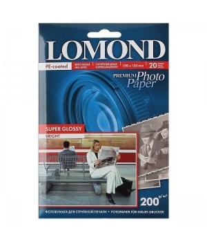 Фотобумага Lomond Super-Glossy 200/10*15/20 одн. 1101113