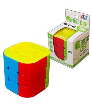 Кубик Рубика Magic Cube 5,5*5,5см, картонная упаковка 5,6*5,8см, европодвес
