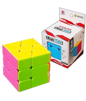 Кубик Рубика Magic Cube 5,5*5,5см, картонная упаковка 5,9*5,9см, европодвес