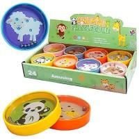 Головоломка Animal puzzle game балансировочная со стальными шариками 8 дизайнов, пластик, картонная упаковка 23*12*4см