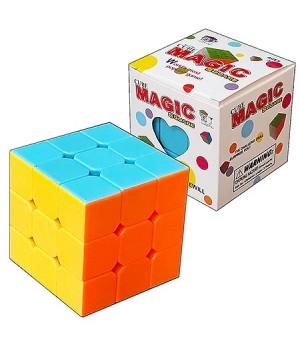 Кубик Рубика Magic Cube Square 5,5*5,5см, картонная упаковка 6*6см