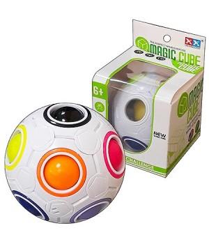 Кубик Рубика Magic cube шар d=6см, картонная упаковка 7*7см