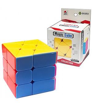 Кубик Рубика Magic Сube Yisheng 5,5*5,5см, картонная упаковка 6*6см, европодвес