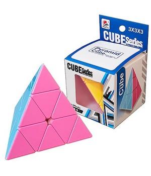 Кубик Рубика СubeSeries 5*8см, картонная упаковка 7,5*7,5см, европодвес