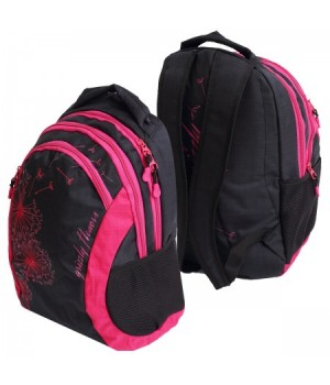 Рюкзак полиэстер 2отд 31*43*18 Grizzly RD-636-1 черный жимолость