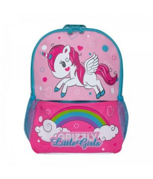 Рюкзак ткань дет 1отд 26*32*10 Grizzly RK-994-2 св роз-роз