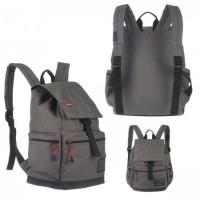 * Рюкзак ткань 1отд Grizzly 30*41*15 отд к/з RU-614-1 серый