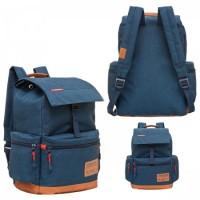 * Рюкзак ткань 1отд Grizzly 30*41*15 отд к/з RU-614-1 синий