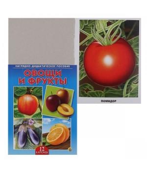 Наглядно-дидактическое пособие Овощи и фрукты ПД-6877