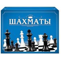 Шахматы Рыжий кот мини-коробка, состав: 16 черных, 16 белых фигур, поле в комплект не входит, картонная упаковка 19*14*3см