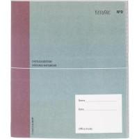 Бизнес-тетрадь Kroyter Офис 40 листов разноцветная в линию на сшивке (200х200 мм)