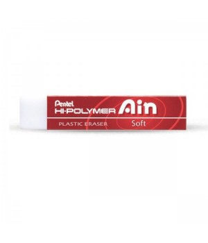 * Ластик квадр держ карт 13*65*13 Hi-Polymer Eraser Ain Soft ZETS07