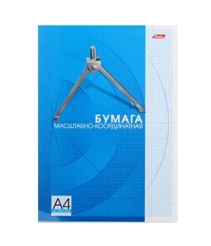 Бумага миллиметровая А4 25л 25Бм4Вк_09325