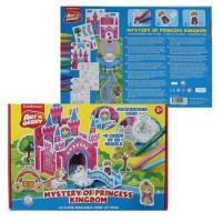 * Набор для рисования фломастерами 10цв 20*30см Mystery of Princess Kingdom 3D Artberry EK 37309