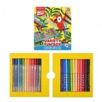 * Набор для рисования фломастерами 24пр Artberry Variety Fun box ЕК 37026 ассорти