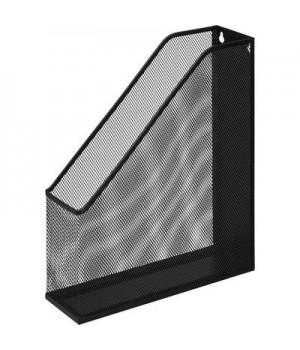 Вертикальный накопитель для бумаг Attache (металлическая сетка, ширина 72 мм, черный)