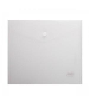 Папка-конверт на кноп А5 (215*240мм) 0,18мм матовая AKk_15106 прозр