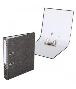 Регистратор 50мм мрам Sponsor SPR 5/30 EL/45202 эконом с метал угол черн