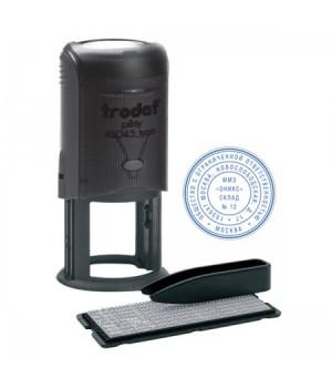 Печать самонаборная 2 круга d-45мм TRODAT 46045/R2