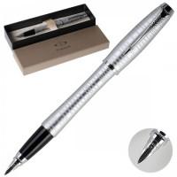 * Ручка PARKER Urban Premium Silver-Blue перо корп латунь/алюминий 1906868