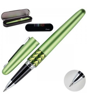 Ручка роллер подар Retro Pop Collection корп св-зел металлик мат с рис BLV-BMR37-M MB