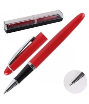 * Ручка роллер в футляре корп красный 170613/306/4 КОКОС син