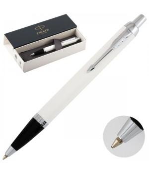 Ручка PARKER IM Metal White CT шар 1931675