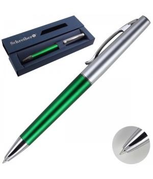 Ручка шар подар корп зелен Schreiber S 3539 син карт/кор